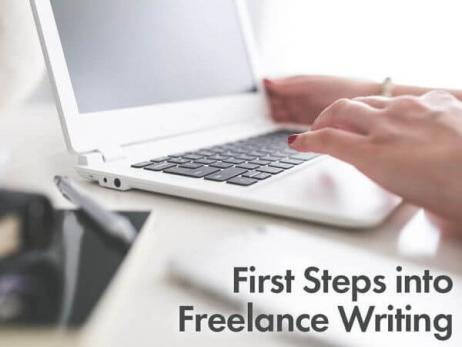 First Steps into Freelance Writing