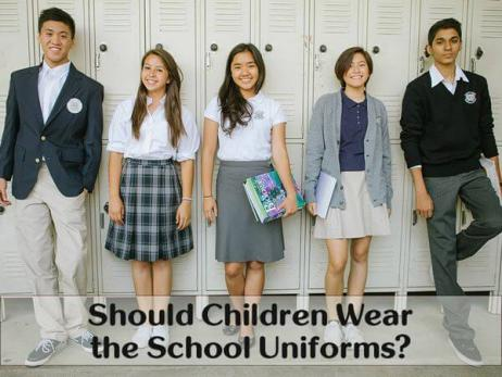 Argumentative Essay: Should Children Wear the School Uniforms?